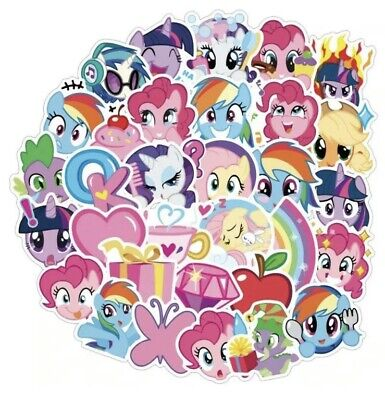 £3.99 • Buy MY LITTLE PONY 40 Stickers Decorate Laptop Phone Books Tablets Party