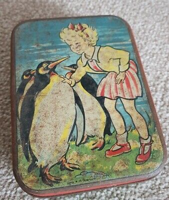 Vintage Advertising Confectionery/Sweet Tin-Edward Sharp & Sons • 9.99£