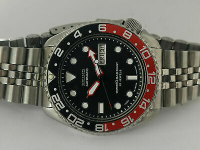 $ CDN148.23 • Buy Vintage Seiko Diver 6309-7290 Black Submariner Mod Automatic Mens Watch 706532