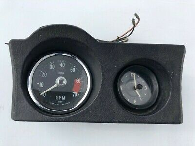 Rover P6  Smith Rev. Counter With Clock UK Made • 60£