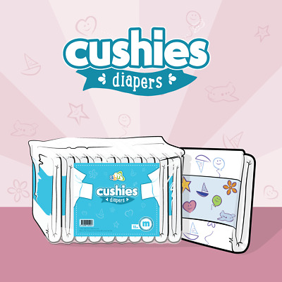 View Details ABUniverse ABU Cushies Diapers - Pack Of 10 • 21.95£