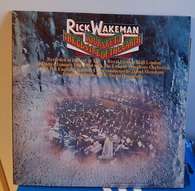 Rick Wakeman - Journey To The Centre Of The Earth - AMLH 63621 - LP Vinyl A1/B1  • 0.79£