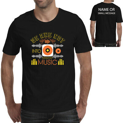 £11.95 • Buy We Are Not Into Dubstep T-shirt Festival Concert
