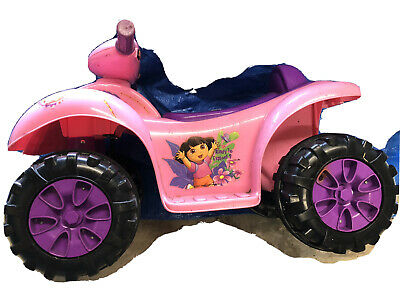 AU25 • Buy Dora The Explorer Motorised Electric Battery Powered Kids Quad Bike Ride On Toy