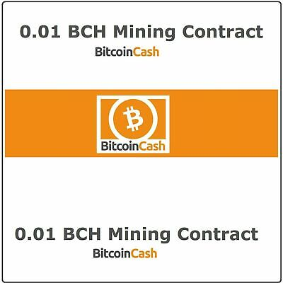 $15.99 • Buy Bitcoin-Cash(0.01 BCH) Mining Contract 3 Hours Get 0.01 BCH Guaranteed