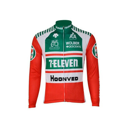AU35.12 • Buy Thermal Fleece 7 Eleven 11  Cycling Jerseys Cycling Long Sleeve Jersey