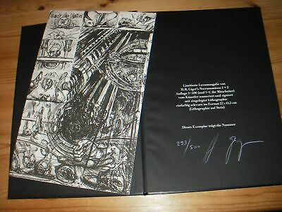£2123.97 • Buy HR Giger Alien Necronomicon I + II, 1984 First Limited De Luxe Edition Signed !!