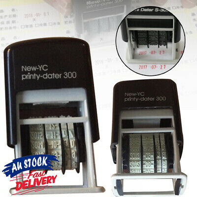 AU10.99 • Buy Rubber Date Stamp Supplies S3 Mini Self-Inking Business Office Stationery