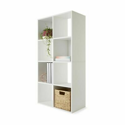 AU103.50 • Buy New 8 Cube Display Shelf  Storage Cabinet Organiser Bookshelf Unit Whit - White,