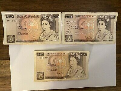 Collectable Bank Of England 10 Pound Bank Note Good Condition • 29.99£