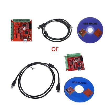 $17.12 • Buy CNC USB MACH3 100Khz Breakout Board 4 Axis Interface Driver Motion Controller