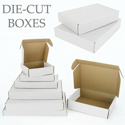 £8.39 • Buy Shipping Cardboard Die Cut Boxes Small Parcel & Medium Postal For Royal Mail