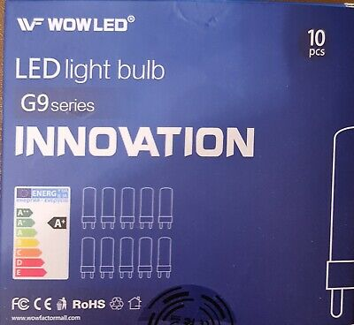 AU3.54 • Buy 10 X LED LIGHT BULB G9BY INNOVATION