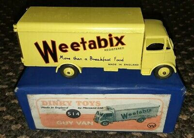 Dinky Guy Weetabix Van. 514 Painted And  Reproduction Box.  • 50£