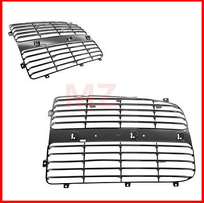 $44.50 • Buy For 02-05 Dodge Ram 2 Pieces  Chrome Plastic Grille Grill Trim Insert
