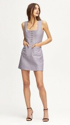 AU149 • Buy Brand New With Tags Alice McCALL Sweet Street Leather Mini Dress AU/UK10