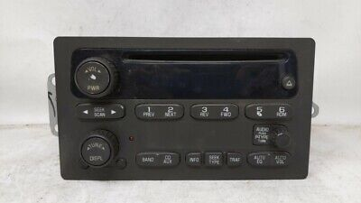 $214.43 • Buy 2003-2005 Chevrolet Silverado 2500 Am Fm Cd Player Radio Receiver 92623