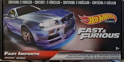 AU45 • Buy  HOT WHEELS - Fast & Furious - Fast Imports - Limited Edition Premium Set