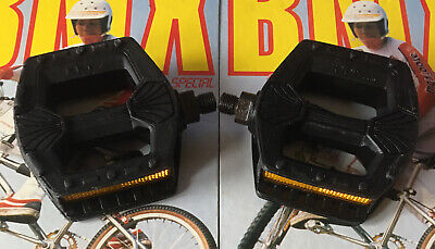 "AU88.85 • Buy **old School Bmx Kkt P-5 Black Pedals 1/2""axle**"