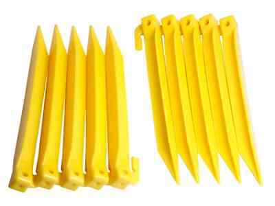 £10.52 • Buy NEW  Plastic Power Tent Pegs 10 Pack,POSTAGE INC, In UK