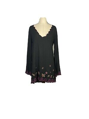 AU30 • Buy Tigerlily Womens Size 10 Long Sleeves Shift Dress Bell Sleeves