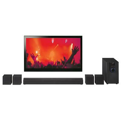 £72.27 • Buy Home Theater System 32  Bluetooth Surround Sound 5.1-Channel Music DVD Compact