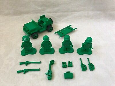 Lego 7595 Toy Story Army Men On Patrol Set Complete With All Figures • 18.15£
