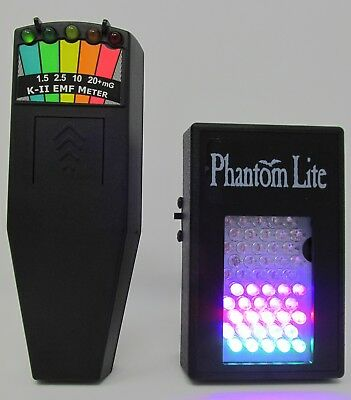 AU130.96 • Buy K2 EMF Meter & Phantom FSX Full Spectrum Illuminator For Paranormal Photography
