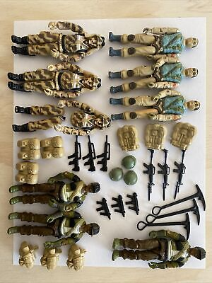 $ CDN50.21 • Buy GI Joe Vintage Army Builders 1983 1984 Dusty Hasbro Lot Accessories Airborne
