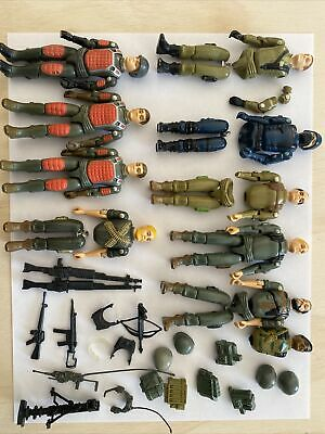 $ CDN114.24 • Buy GI Joe Vintage 1982 Hasbro Parts Lot Accessories Original Straight Arm Figures
