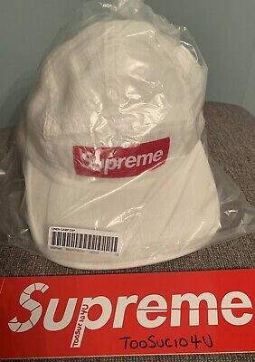 $ CDN97.05 • Buy Supreme Linen Camp Cap White SS21 In Hand Ready To Ship