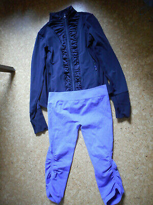$ CDN45.99 • Buy Lululemon Ivivva Purple Jacket Sculpt Shorts Seamless Compression Pants Size 14