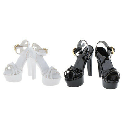 $26.51 • Buy 2 Pairs 1:6 Scale High Heel Sandals Shoes For TTL Enterbay Female Figures