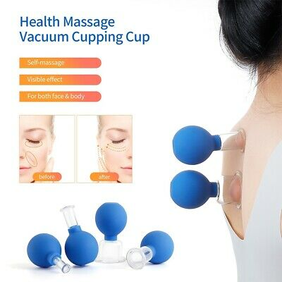 Anti Cellulite Cupping Massage Vacuum Acupuncture Glass Cups Face Body Lifting • 13.29£