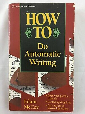 £14.53 • Buy How To Do Automatic Writing Edain McCoy Paperback 1994