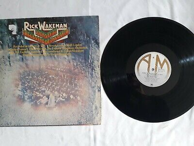 Rick Wakeman – 'Journey To The Centre Of The Earth' 12  Vinyl LP. 1974 UK.  • 1.99£
