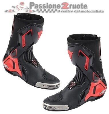 £260.98 • Buy Boots Motorcycle Race Track Dainese Torque D1 Out Black Red 44 Racing
