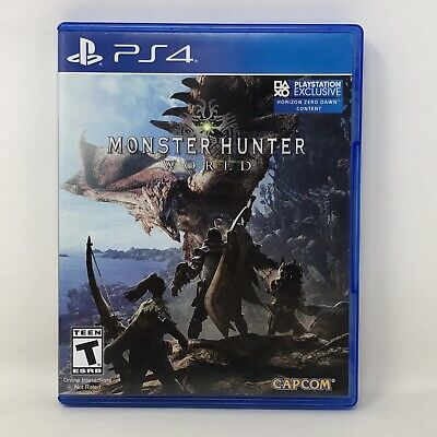 AU23.60 • Buy Monster Hunter World Sony PlayStation 4 PS4 Video Game