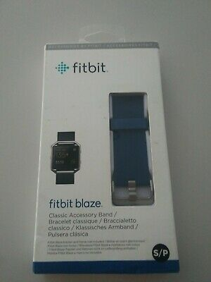 $ CDN13.30 • Buy  NEW Fitbit Blaze Accessory Band, Classic, Blue, Small,SHIPPING FAST