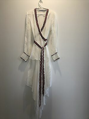 AU100 • Buy Sass And Bide Stunning White Dress