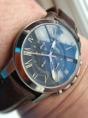 $ CDN51.82 • Buy Mens Watch Fossil Chronograph,great Condition,priced To Sell Grant Model