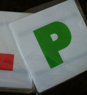 Green P Plates Driving Learner Provisional Test Pass • 0.99£