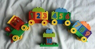 AU9 • Buy LEGO Duplo Number Train (10558)  Not Complete - Figures Missing