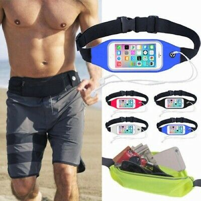 AU7.89 • Buy Running Jogging Gym Waist Band Cover Holder For Apple IPhone X XS Max & Other