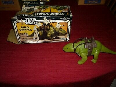 $ CDN169.84 • Buy Star Wars Vintage Patrol Dewback In The Original Box!