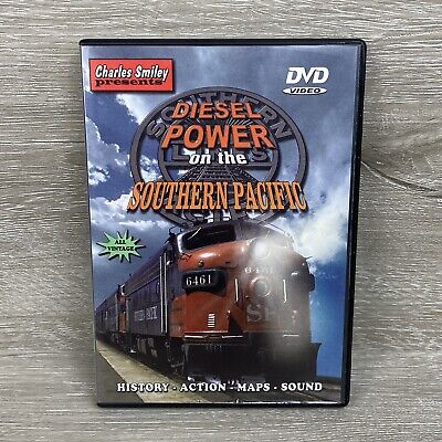 £8.92 • Buy Diesel Power On The Southern Pacific Charles Smiley Railroad Trains DVD Video