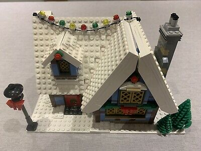 LEGO 10229 Creator Winter Village Cottage. Retired Very Rare Used • 180£