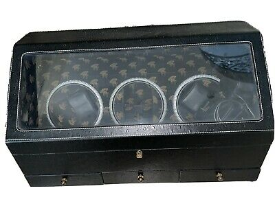 $ CDN60.73 • Buy Watch Winder With Cover 6 Watches And Jewelry Holder
