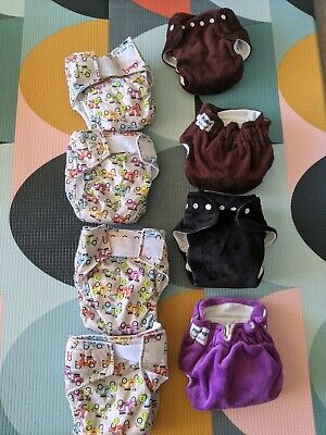 AU23.84 • Buy Reusable Nappies Baby Beehinds