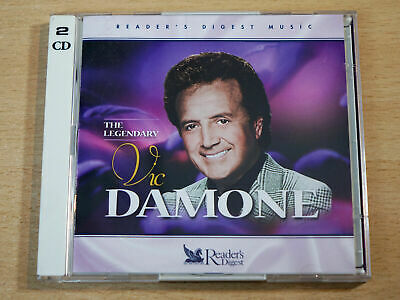 £9.99 • Buy Vic Damone - The Legendary Readers Digest 2 CD SET : NEW & FACTORY SEALED